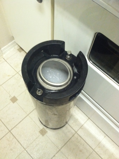 Keg sanitized