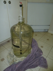 PBW related carboy spill.