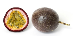 This is what passion fruit looks like