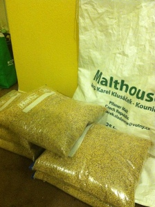 Sack of Pilsner Malt