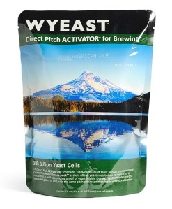 An inflated Wyeast Smack Pack. Image from: www.eckraus.com
