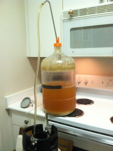 Kegging the Kolsch